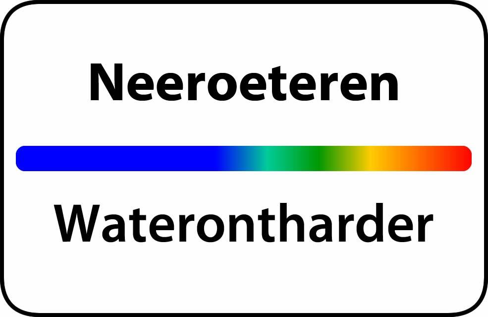 Waterontharder Neeroeteren