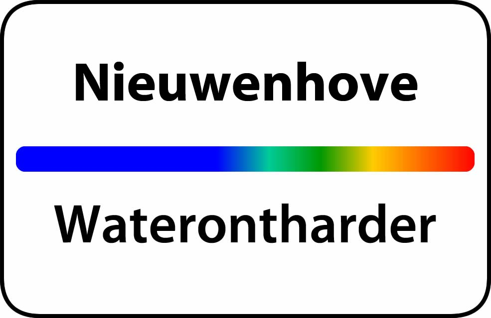 Waterontharder Nieuwenhove
