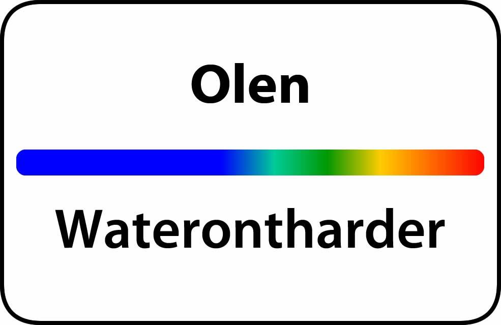 Waterontharder Olen