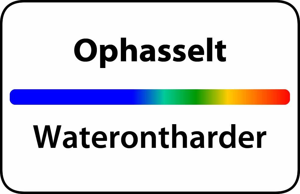 Waterontharder Ophasselt