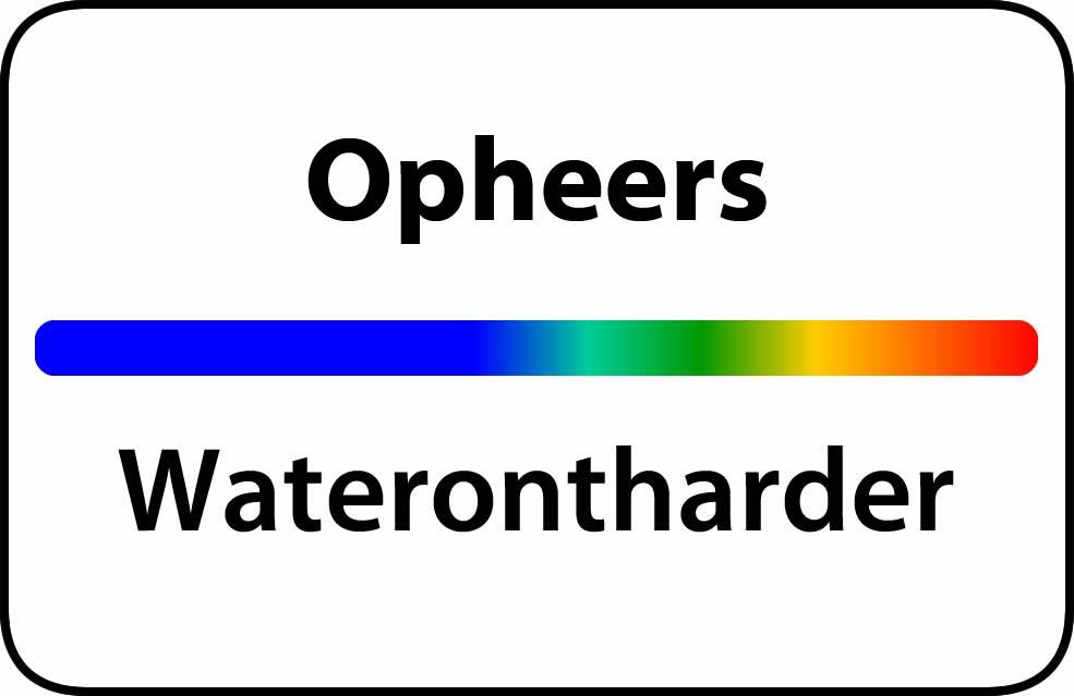 Waterontharder Opheers