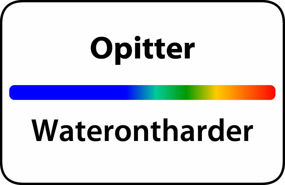 Waterontharder Opitter