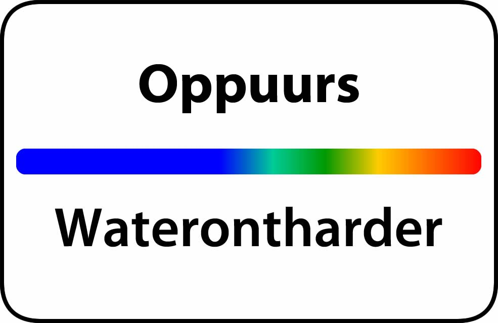 Waterontharder Oppuurs