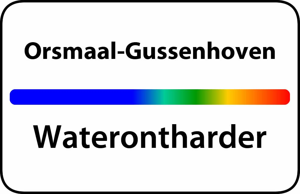 Waterontharder Orsmaal-Gussenhoven