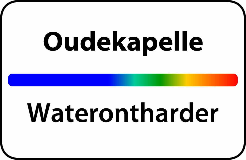 Waterontharder Oudekapelle