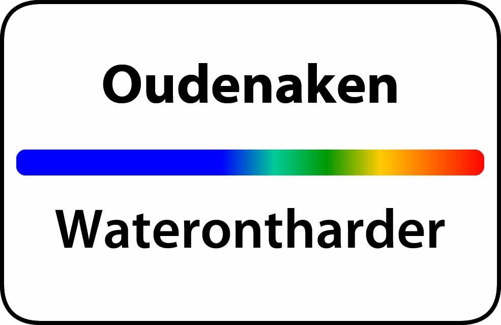 Waterontharder Oudenaken
