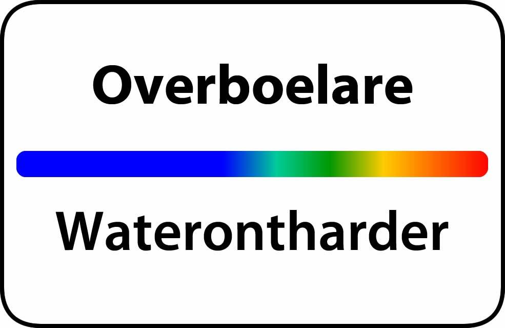 Waterontharder Overboelare