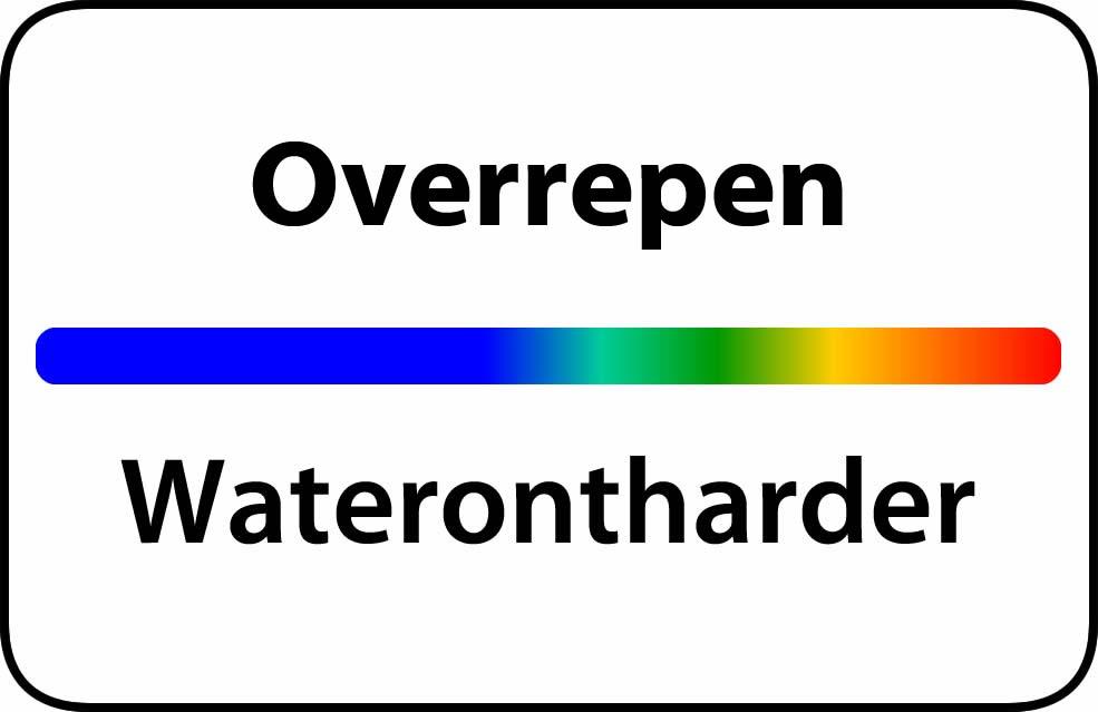 Waterontharder Overrepen