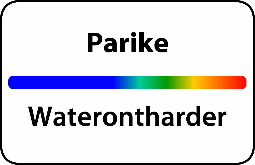 Waterontharder Parike