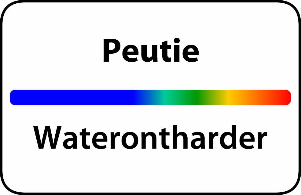 Waterontharder Peutie