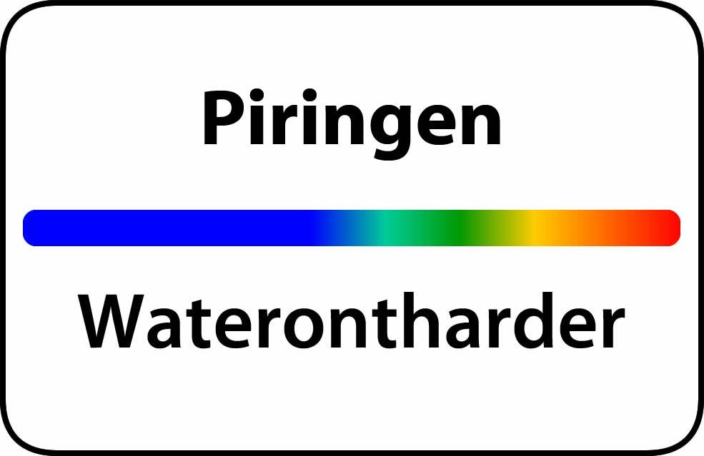 Waterontharder Piringen