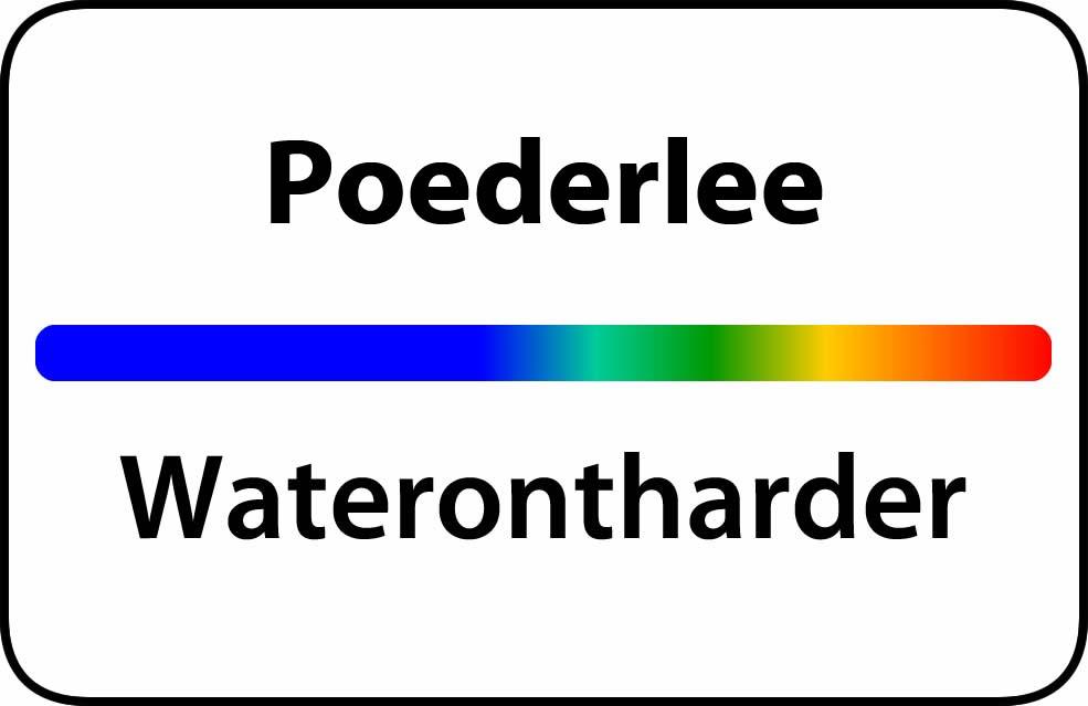 Waterontharder Poederlee
