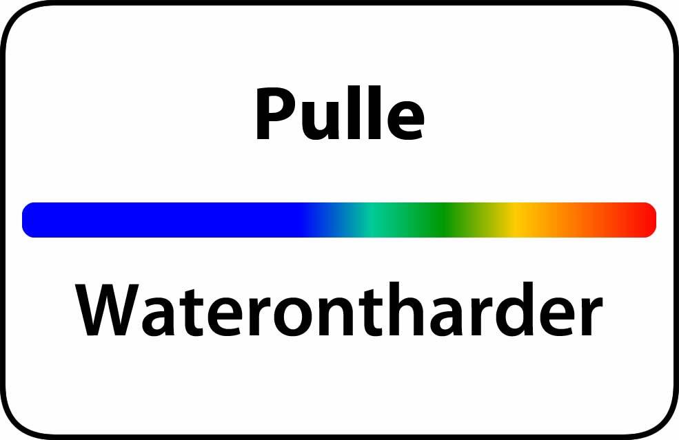 Waterontharder Pulle