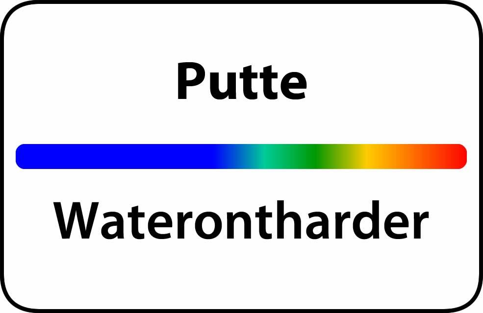 Waterontharder Putte