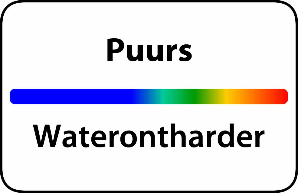 Waterontharder Puurs