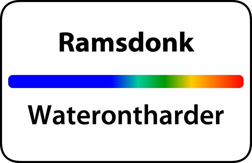 Waterontharder Ramsdonk