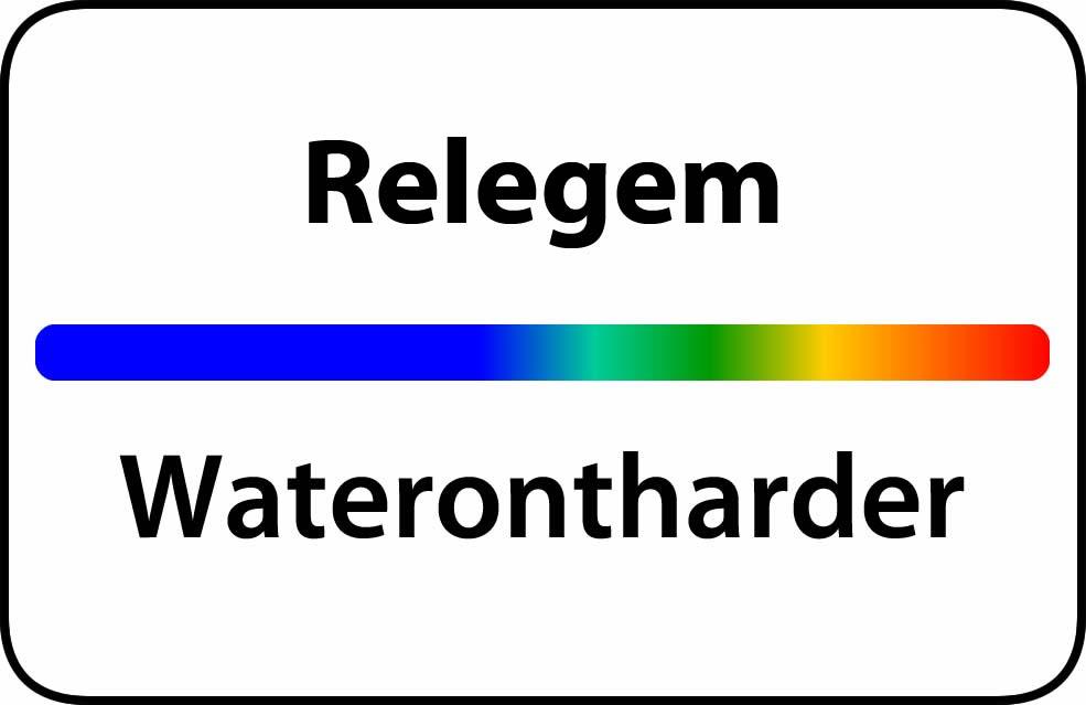 Waterontharder Relegem