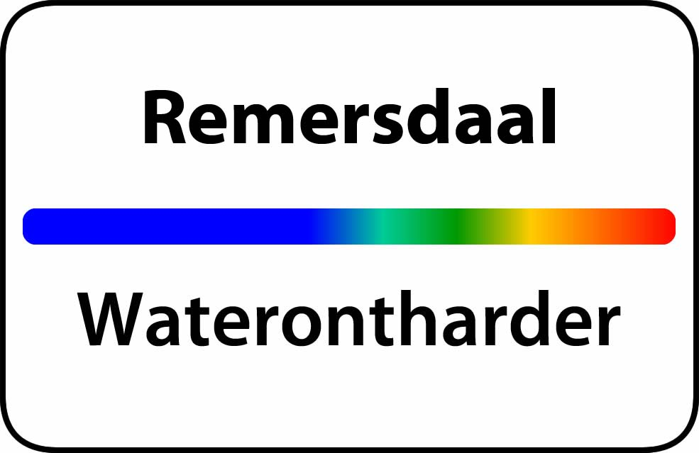 Waterontharder Remersdaal