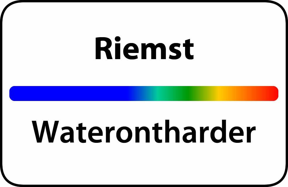 Waterontharder Riemst