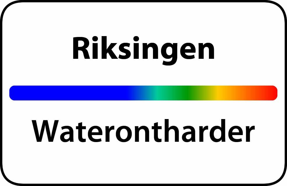 Waterontharder Riksingen