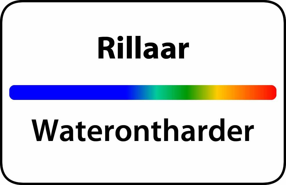 Waterontharder Rillaar