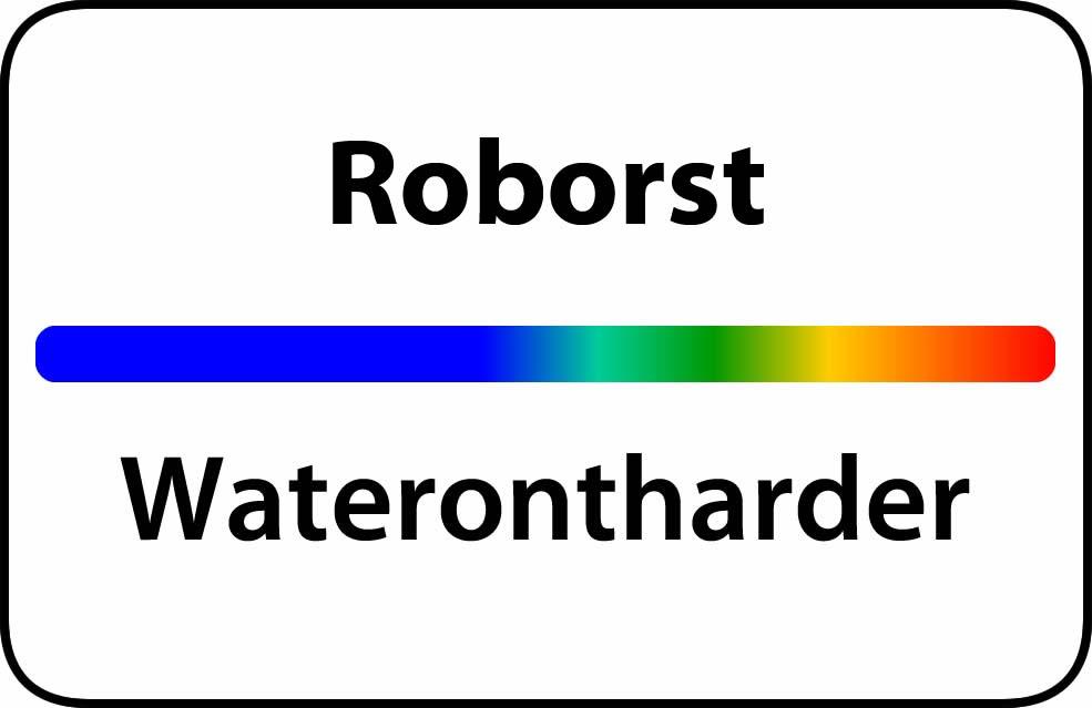 Waterontharder Roborst