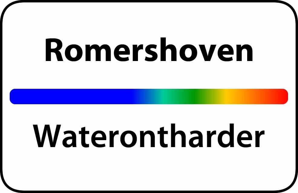 Waterontharder Romershoven