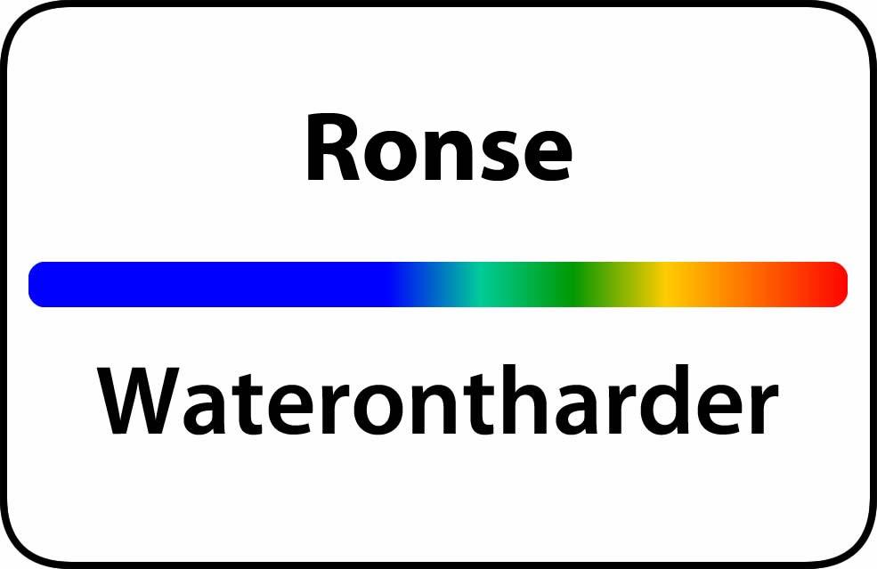 Waterontharder Ronse