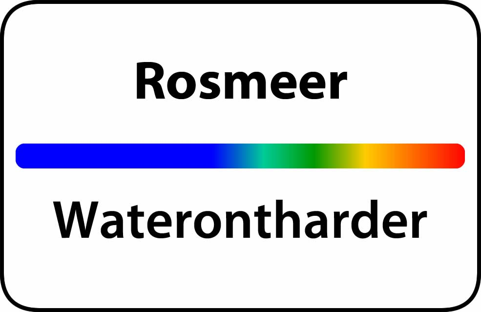 Waterontharder Rosmeer