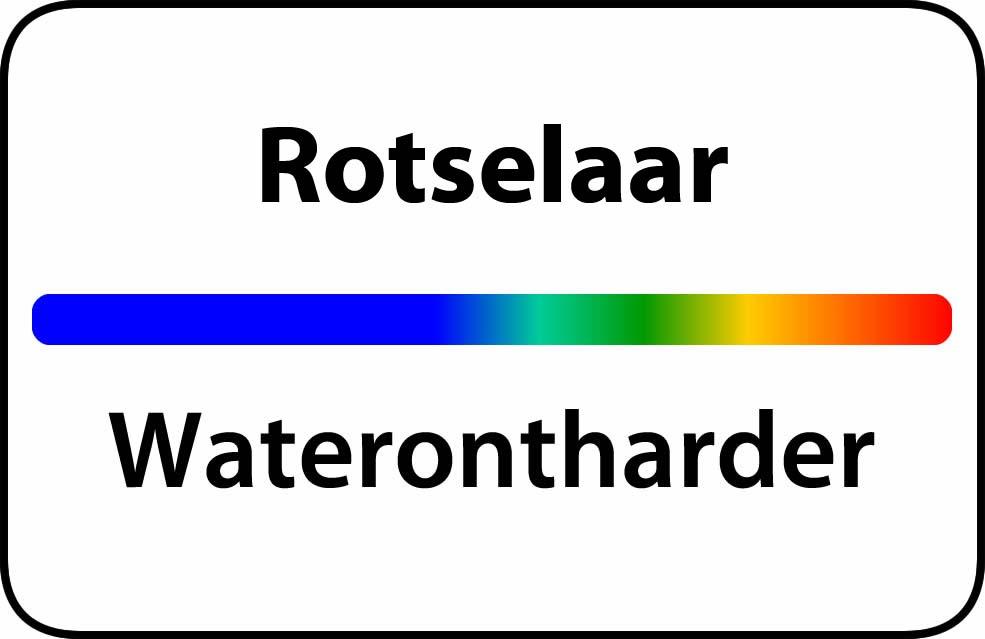 Waterontharder Rotselaar