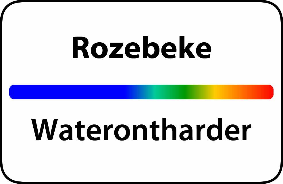 Waterontharder Rozebeke