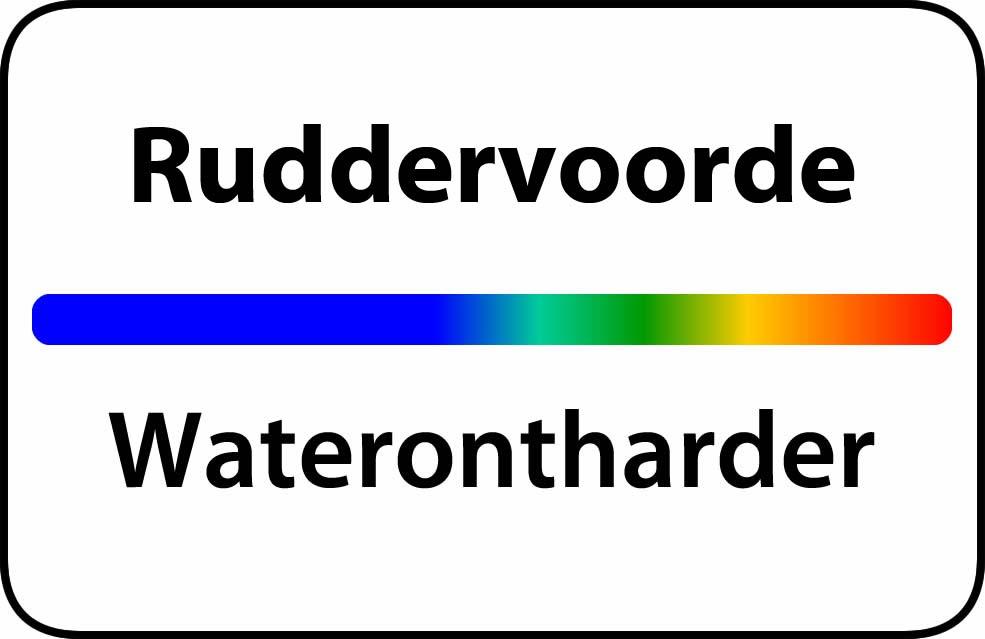 Waterontharder Ruddervoorde