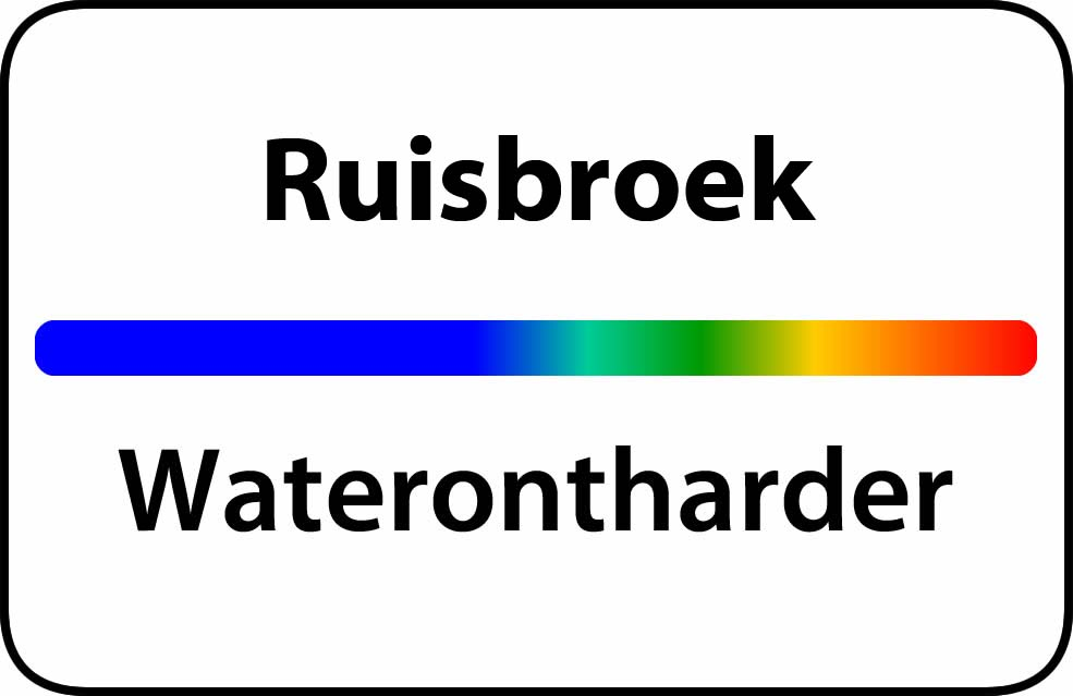 Waterontharder Ruisbroek