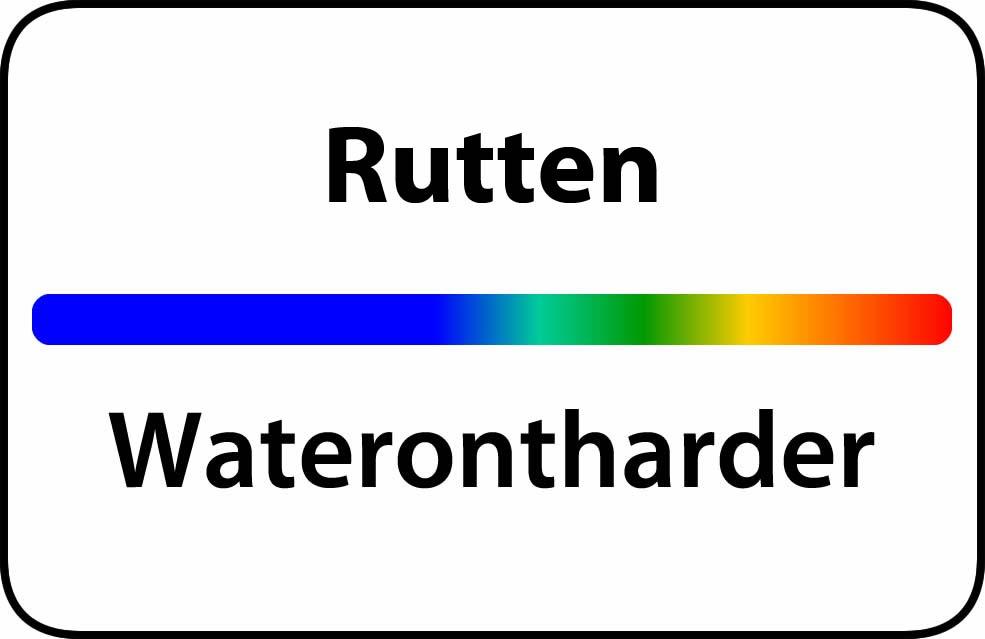 Waterontharder Rutten