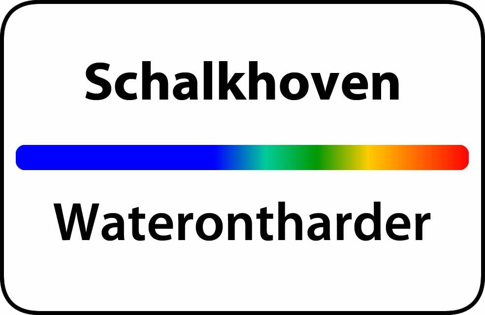 Waterontharder Schalkhoven