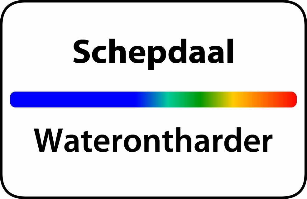 Waterontharder Schepdaal