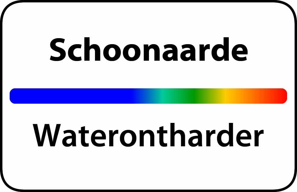 Waterontharder Schoonaarde