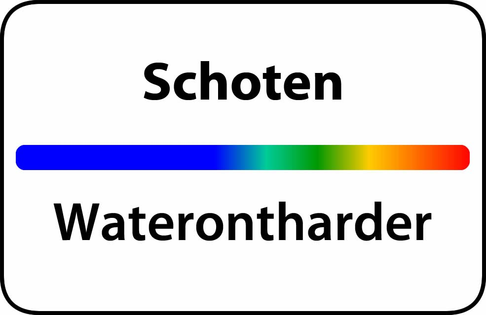 Waterontharder Schoten