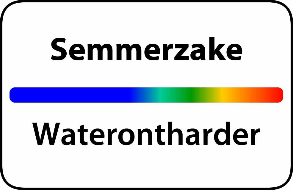Waterontharder Semmerzake