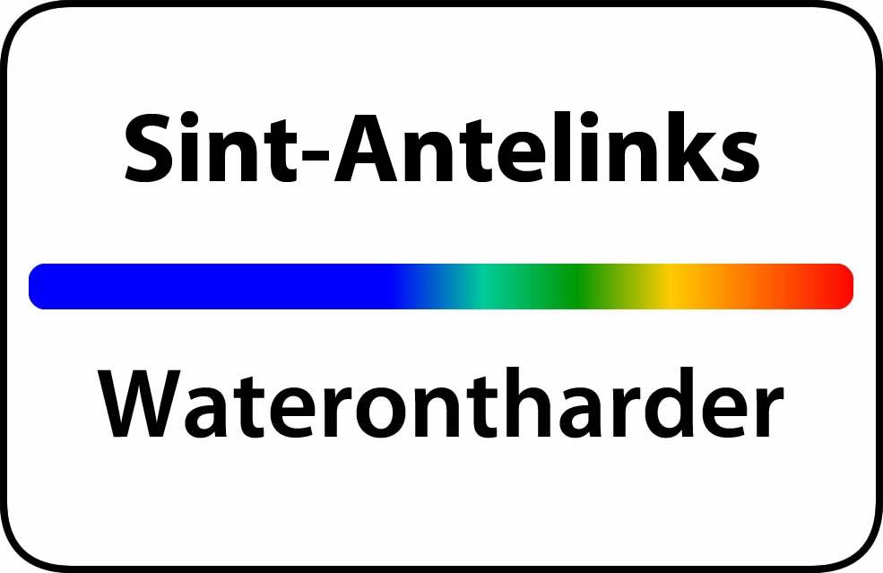 Waterontharder Sint-Antelinks