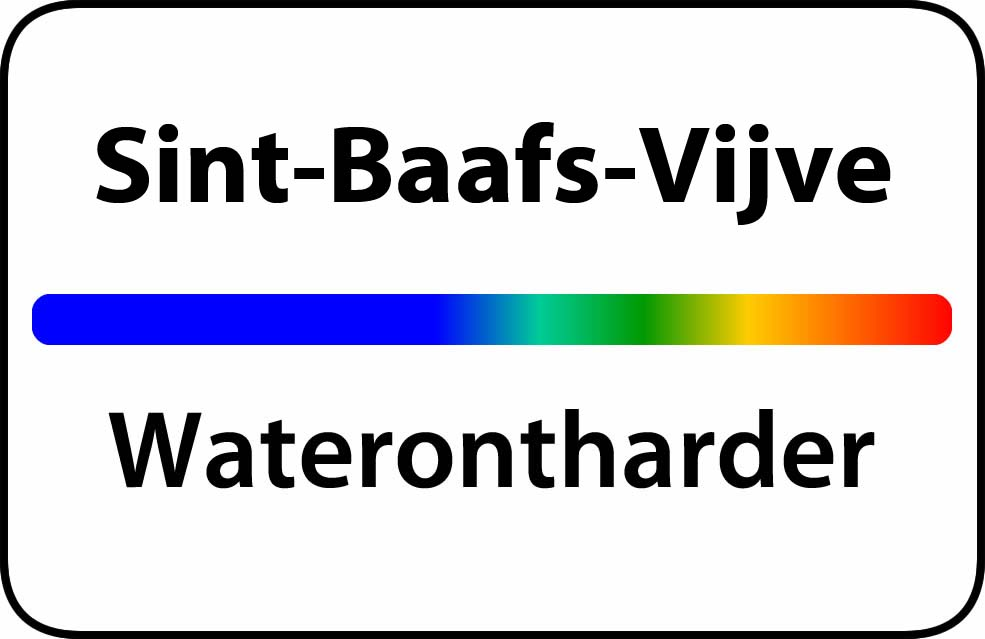 Waterontharder Sint-Baafs-Vijve