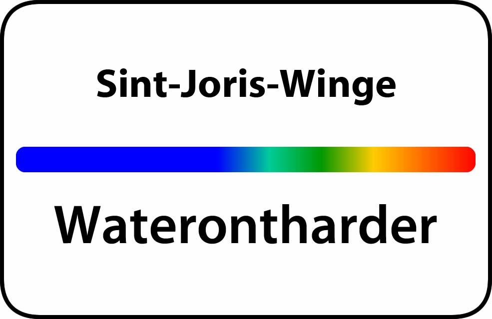 Waterontharder Sint-Joris-Winge