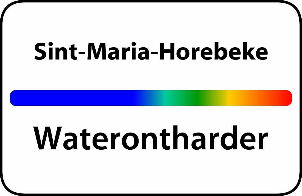 Waterontharder Sint-Maria-Horebeke