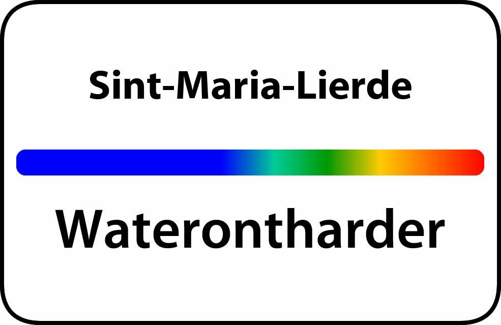 Waterontharder Sint-Maria-Lierde