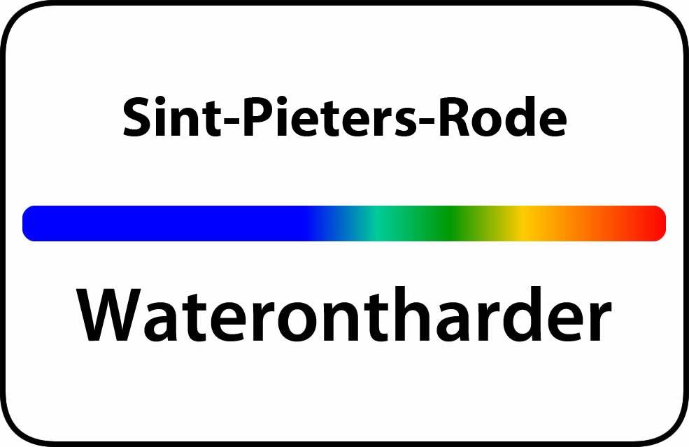 Waterontharder Sint-Pieters-Rode
