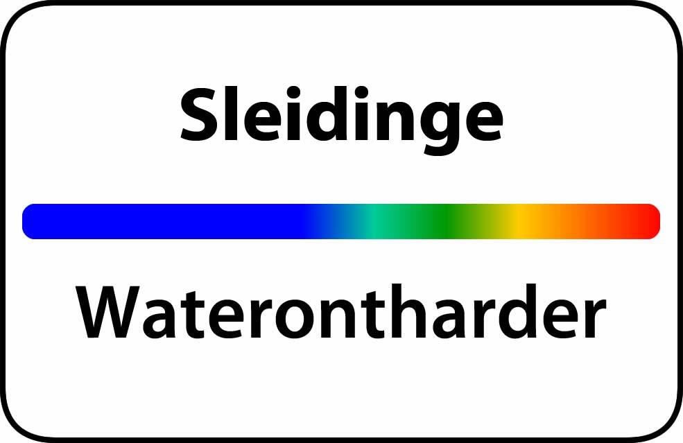 Waterontharder Sleidinge