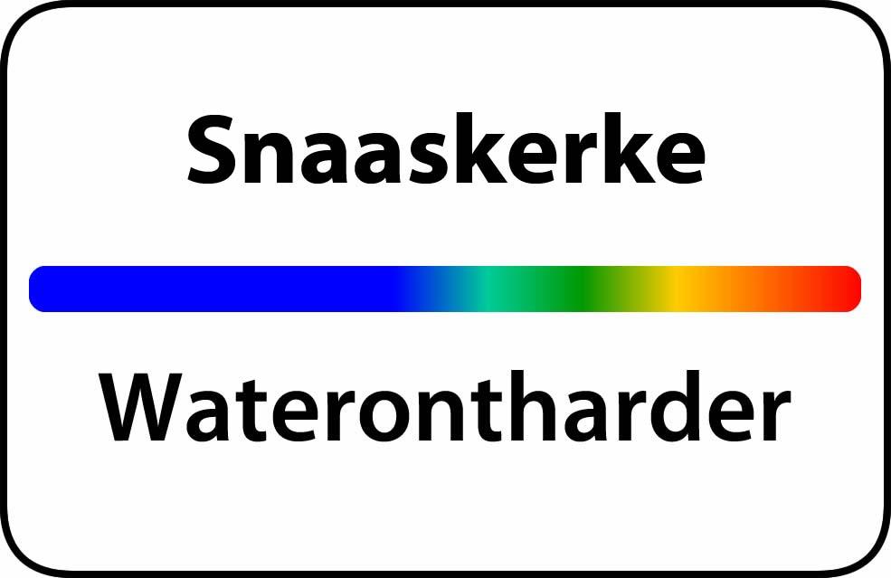 Waterontharder Snaaskerke