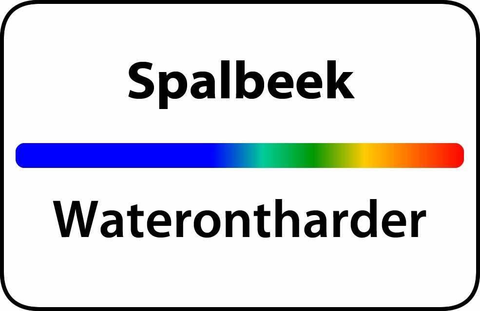 Waterontharder Spalbeek