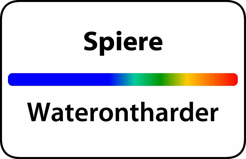 Waterontharder Spiere