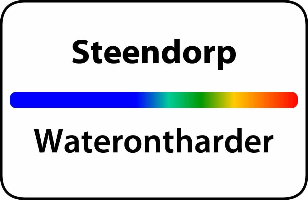 Waterontharder Steendorp